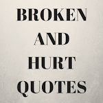 Broken  And Hurt Quotes icon