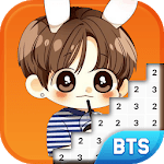 BTS Army Pixel - Number Coloring Books icon