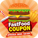 King Fast Food Coupons – Burger King, Pizza icon