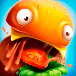 Burger.io: Devour Burgers in Fun IO Game APK icon
