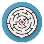 Circle Maze watch face icon