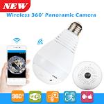 Panoramic CCTV Bulb Camera icon