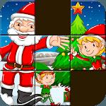 kids Jigsaw Puzzles-Santa Claus-Block Puzzle Game icon