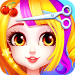 Magical Hair Salon: Girl Makeover APK icon