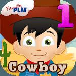 Cowboy Kids First Grade Games icon