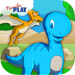 Kids Dinosaurs Toddler Games icon