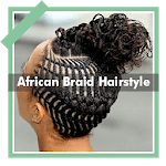 500+ Top African Braids Hairstyles Fashion Offline icon