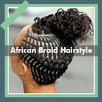 500+ Top African Braids Hairstyles Fashion Offline APK icon