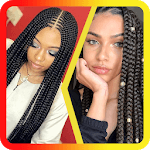 African Women Braids icon