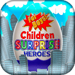 Surprise Eggs Superheroes icon