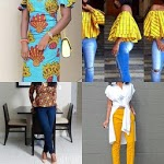 Ankara Top Styles with Jeans 2018 icon