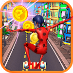 Subway Lady Bug Cat Noir Rush 2019 APK icon