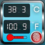 Body Temperature Check Diary : Thermometer Fever icon