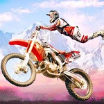 Dirt Bike Race Free - Flip Motorcycle Racing Games icon