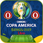 Live Scores - Copa America 2019 Brazil for pc icon