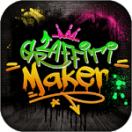 Graffiti Logo Maker App icon