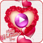Happy Valentine Video Maker icon