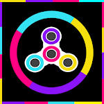 Fidget Spinner Switch Color icon