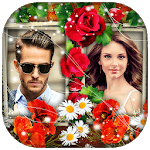 Flower Dual Photo Frames icon