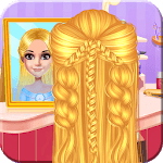 School Girl Hair Dressup Salon for pc icon