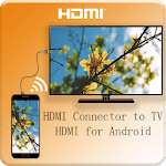HDMI Connector to TV(ScreenMirroring/usb/mhl/hdmi) icon
