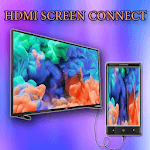 Hdmi screen connect - ( mhl/usb/otg/mirroring/ ) icon