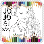 Jojo Siwa Coloring Book icon