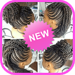 African braids - african hairstyle for woman icon