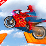 Spiderman Bike Racing Stunt Master icon