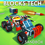 Block Tech : Epic Sandbox Car Craft Simulator Test icon