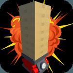 Balanced tower boom: Classic blocks board game icon