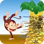 Dropping Tumblin Monkeys Falling - 3D Sticks Up icon