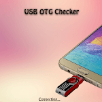 USB OTG Checker Connector Mobile icon