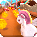 Unicorn Runner 3D: Cute Game for Girls icon