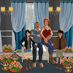 Virtual Happy Family Ultimate Home Adventure Sim icon
