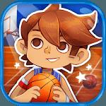Kids basketball (sport) icon