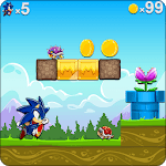 Super Sonic World Dash Adventure icon