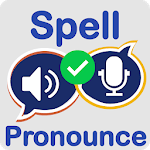 Spell and Pronounce it Right - TTS / STT APK icon