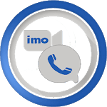 new imo free video calls and chat with text guide icon