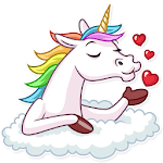 🦄 WAStickerApps - Kawaii Unicorns icon
