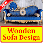 Wooden Sofa Set Design idea icon