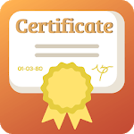 Certificate and Diploma Designer icon