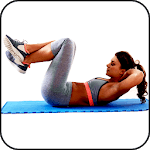 Abs Workout at Home icon