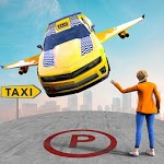 Real Flying Car Taxi Simulator icon