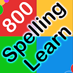 800 Spelling Quiz for spelling learning icon