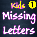 Missing Letters for Kids icon