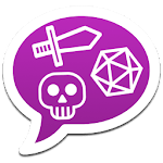 mRPG - Chat with dice rolling icon