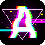 Aesthetic Photo Editor With Vaporwave Stickers 🍄 icon