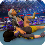 Women Wrestling Championship 3d Girl Fighting icon
