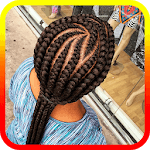 African Cornrows icon